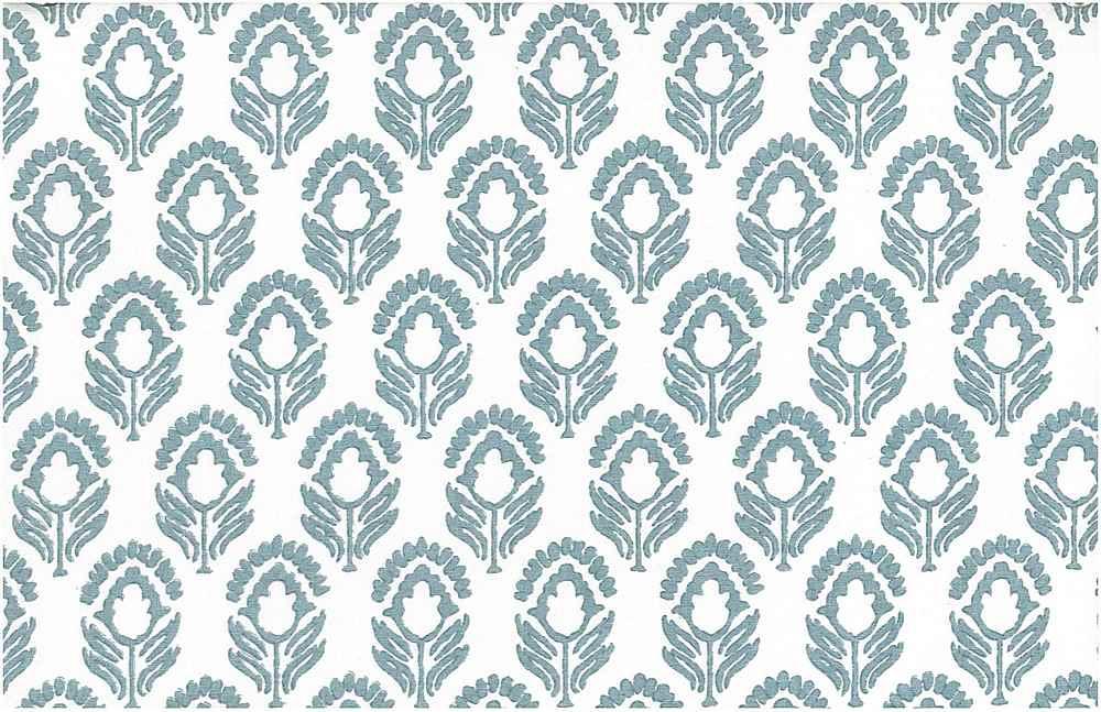 9202/3 / POWDER BLUE/WHITE / JASMINE PRINT