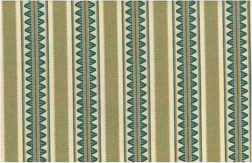 2321/2 / GREEN / TEMPLE STRIPE