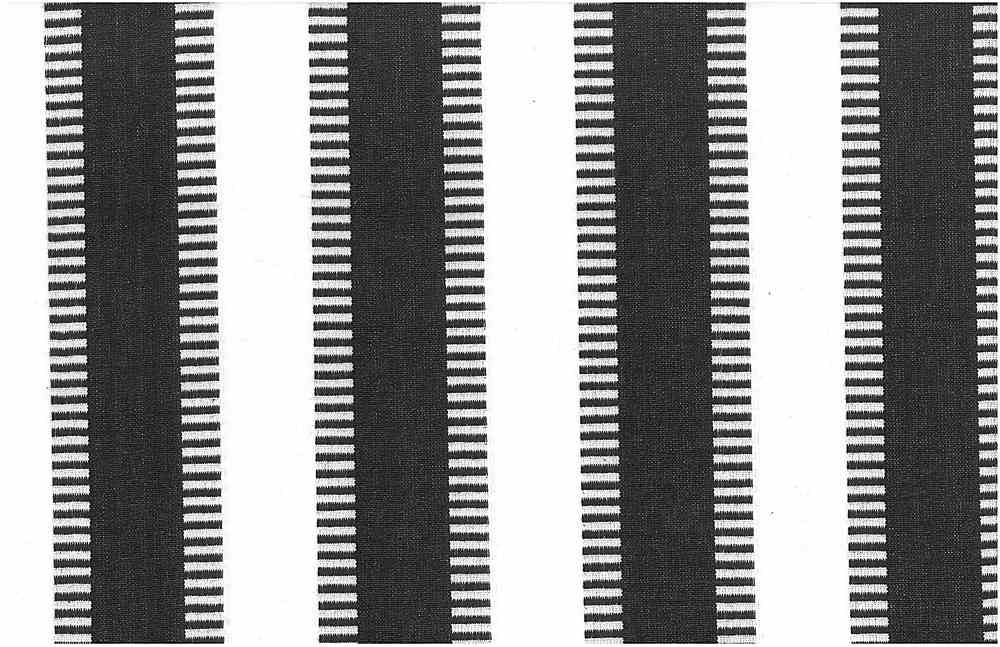 2225/5-LT / BLACK/WHITE / NEW LADDER STRIPE-PRESHRUNK