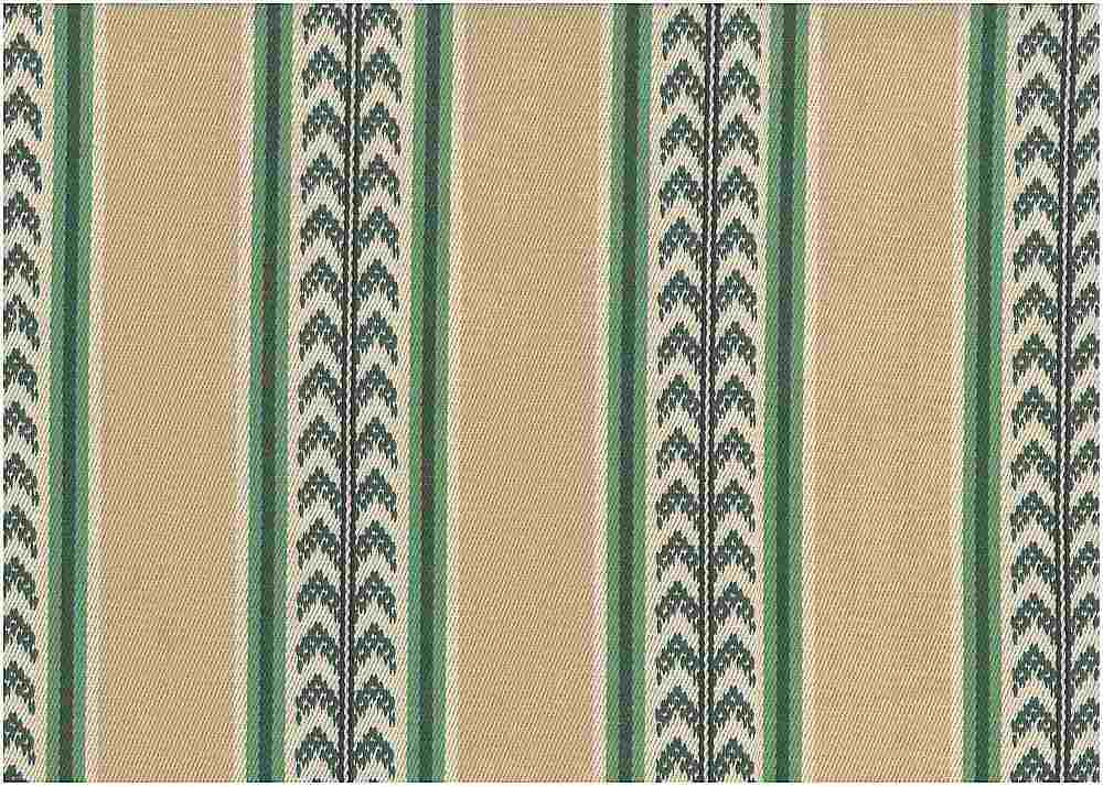 2345/2 / GREEN TAN / CORNSTALK STRIPE