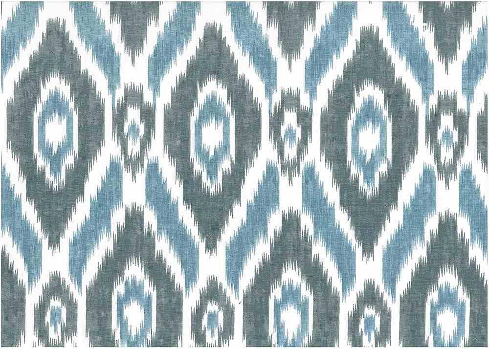 9228/1 / BLUES / NEW ISTANBUL IKAT PRINT
