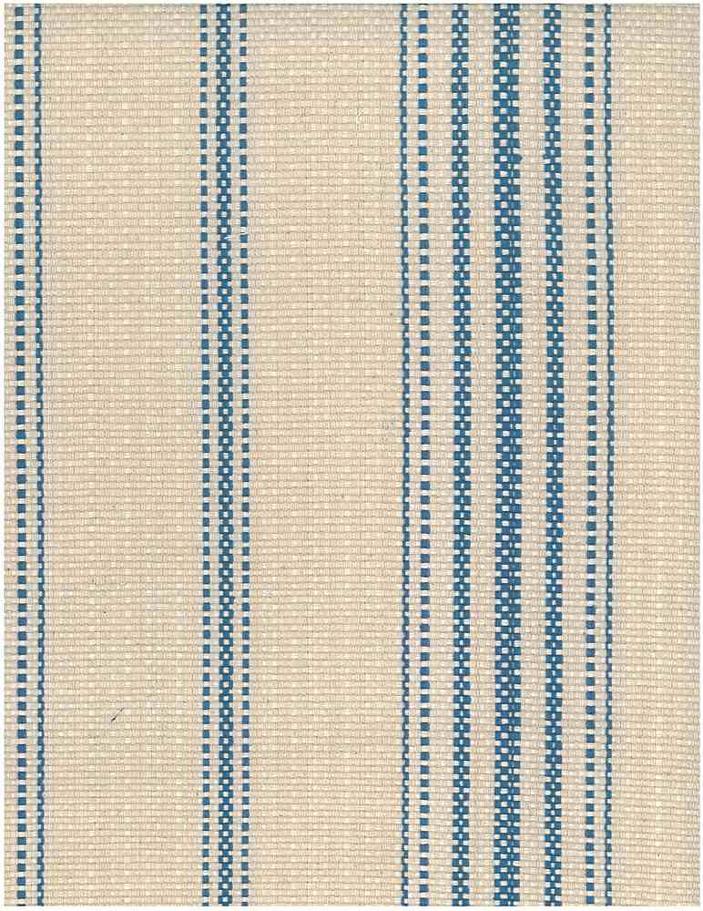 2348/2 / BLUE/FLAX / FARMHOUSE STRIPE