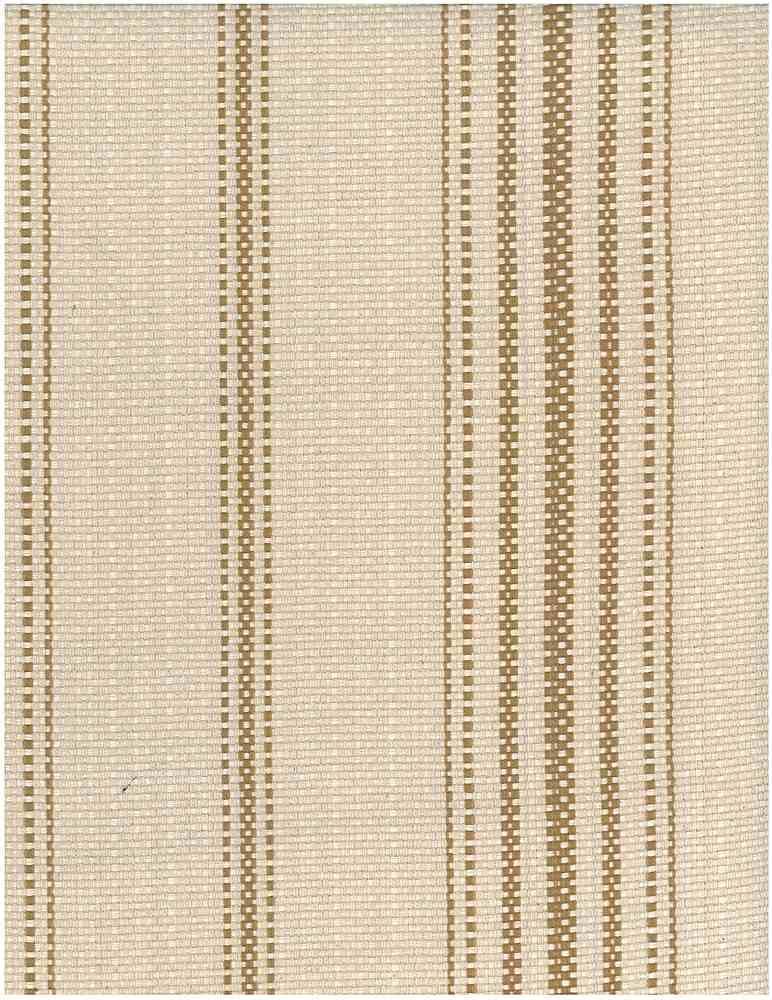 2348/3 / GOLD/FLAX / FARMHOUSE STRIPE