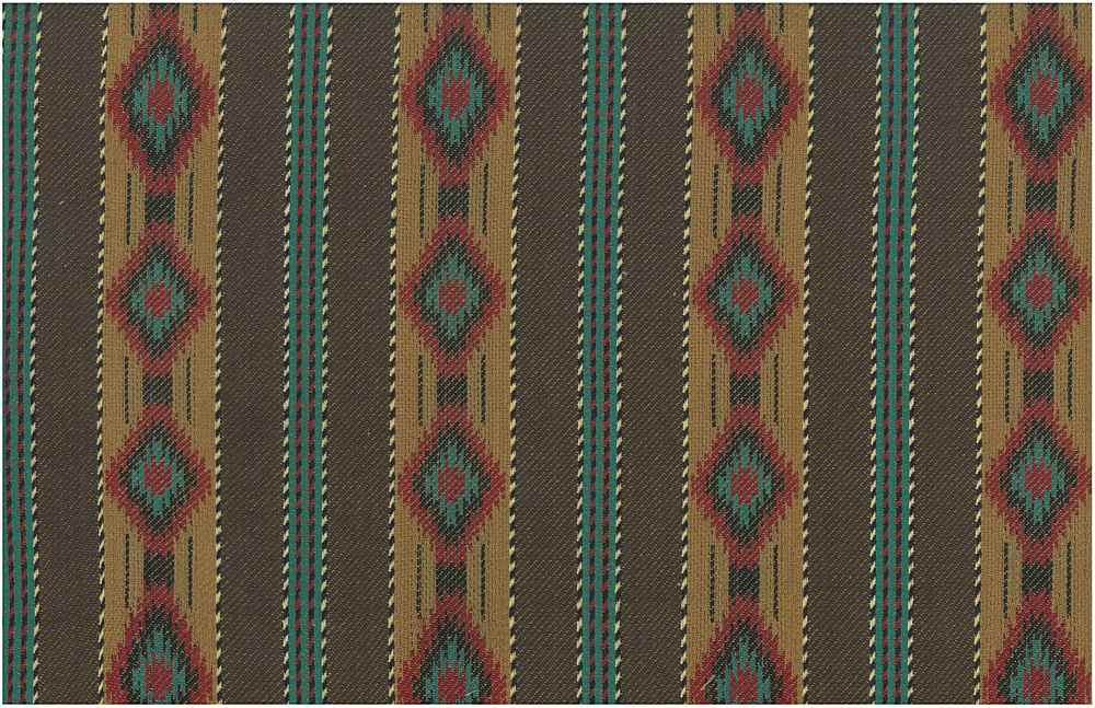 2351/1 / BROWN MULTI / MESA STRIPE