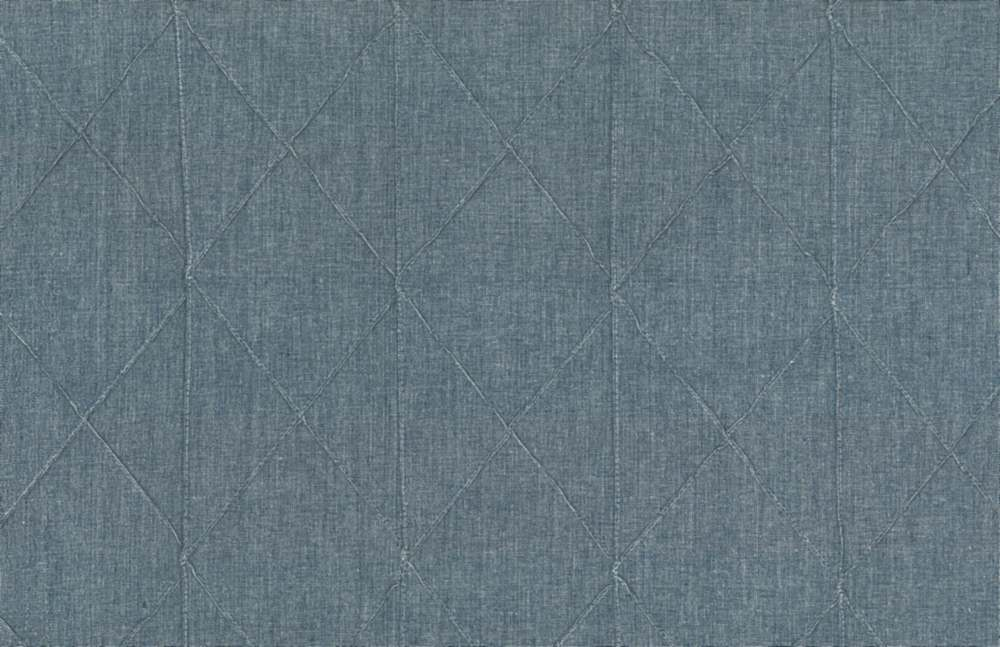 8027/3 / BLUE / BIG DIAMOND PINTUCK CHAMBRAY