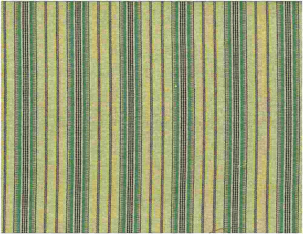 2068/3-01 / GREEN / MOROCCAN STRIPE