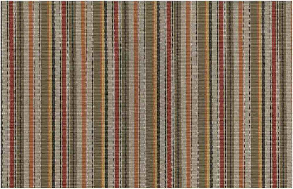 2233/1 / EARTH RED / RUSTIC STRIPE