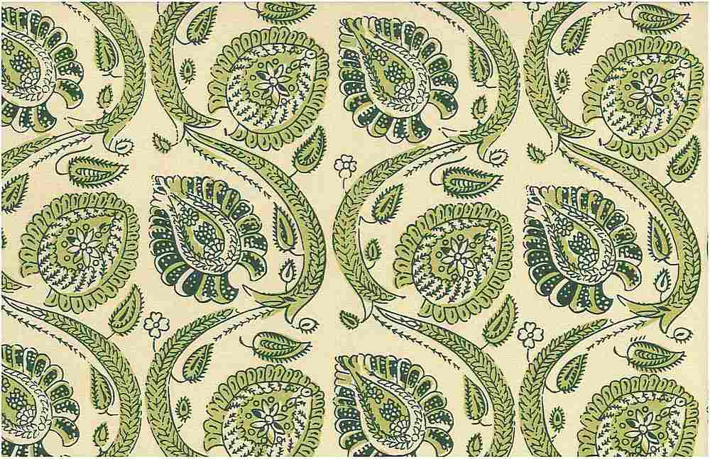 0973/2 / FRESH GREEN / ORISSA PRINT