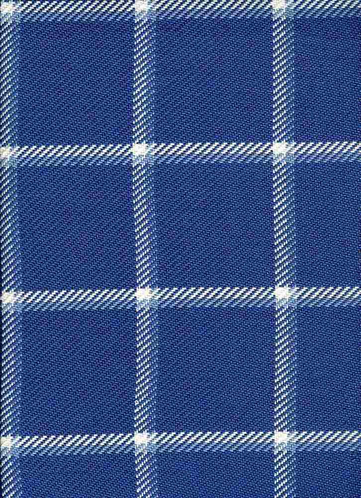3186/1 / BLUE / QUINCY PLAID
