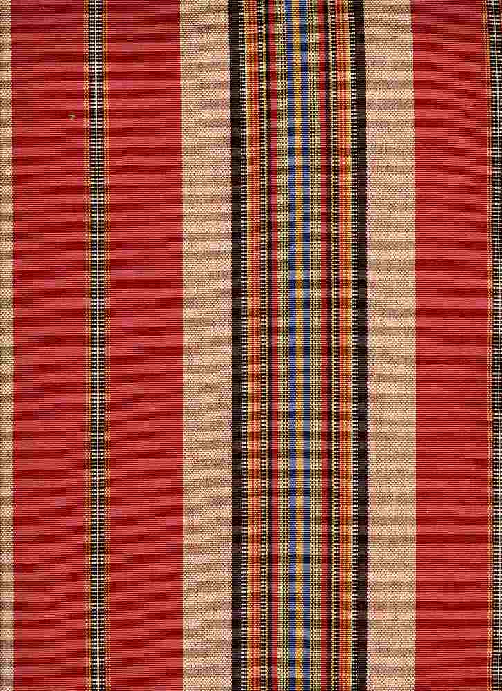 2288/1 / RED / CHEYENNE STRIPE