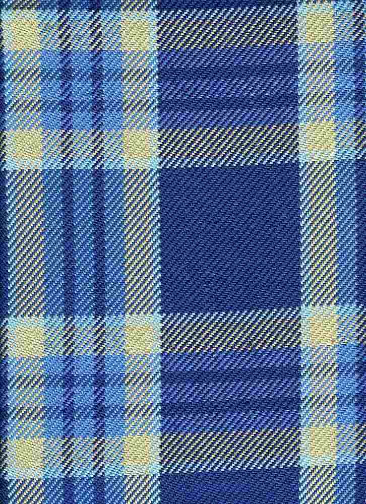 3189/2 / BLUES / BOSTON PLAID