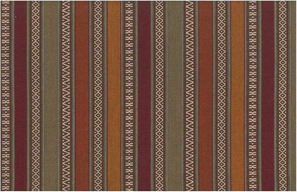 2313/1 / AZTEC STRIPE / RUST MULTI