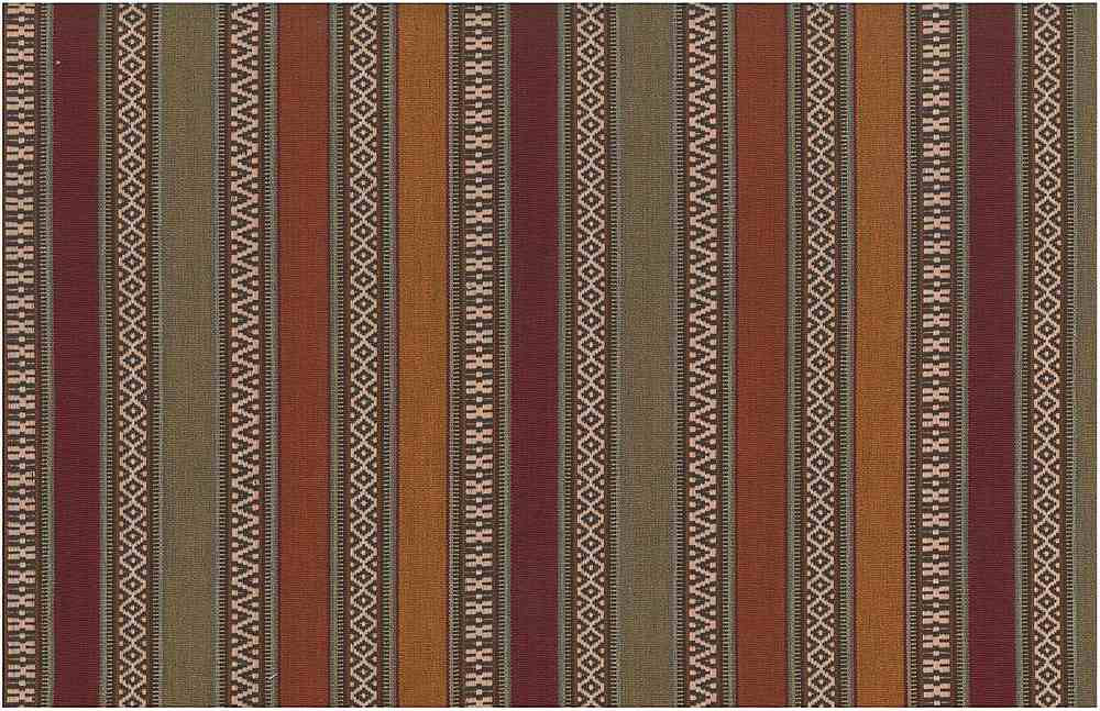 2313/1 / AZTEC STRIPE / RUST MULTI