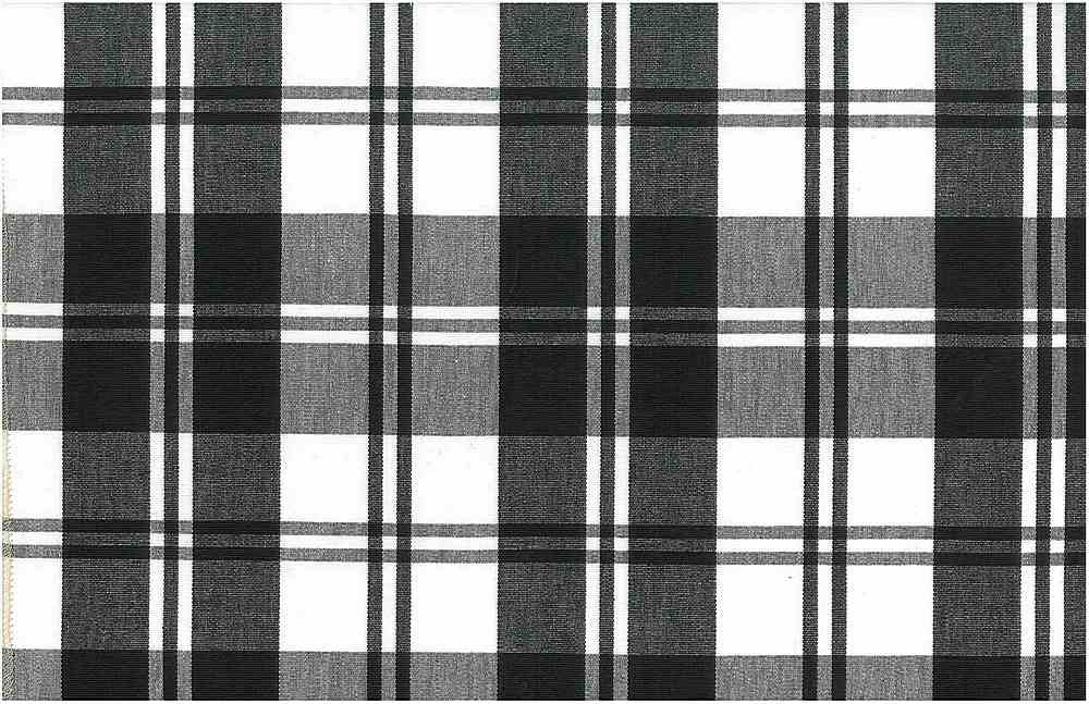 3191/1 / CLASSIC PLAID / BLACK/WHITE