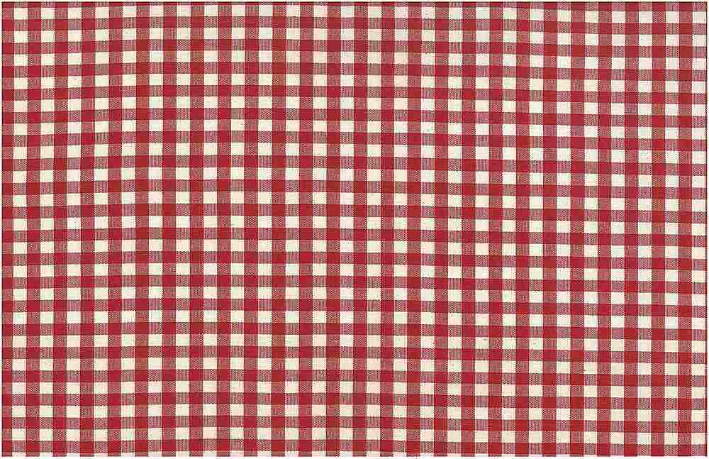 <h2>3095/2</h2> / GINGHAM CHECK / RED/WHITE