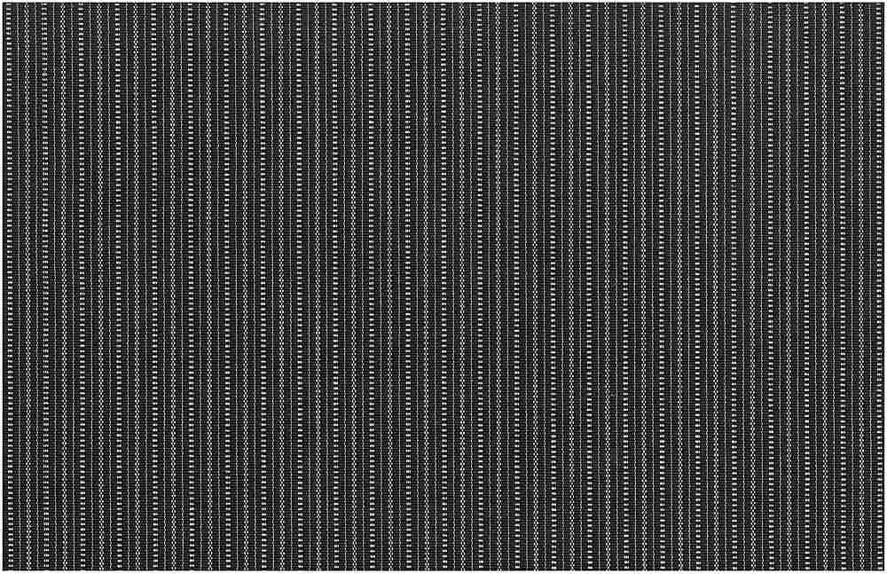 8073/1 / METRO STRIPE / WHITE ON BLACK