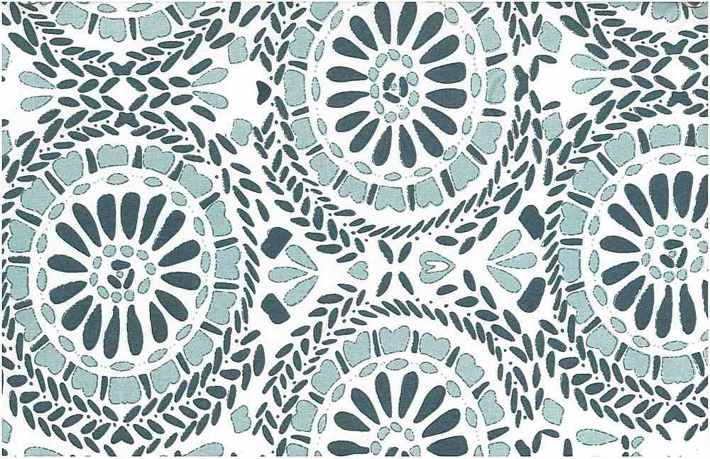 <h2>9200/1</h2> / SUZANI PRINT / BLUES