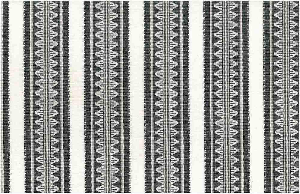 2321/1 / TEMPLE STRIPE / BLACK/WHITE