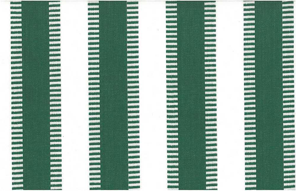 2225/8 / NEW LADDER STRIPE / BASIL/WHITE