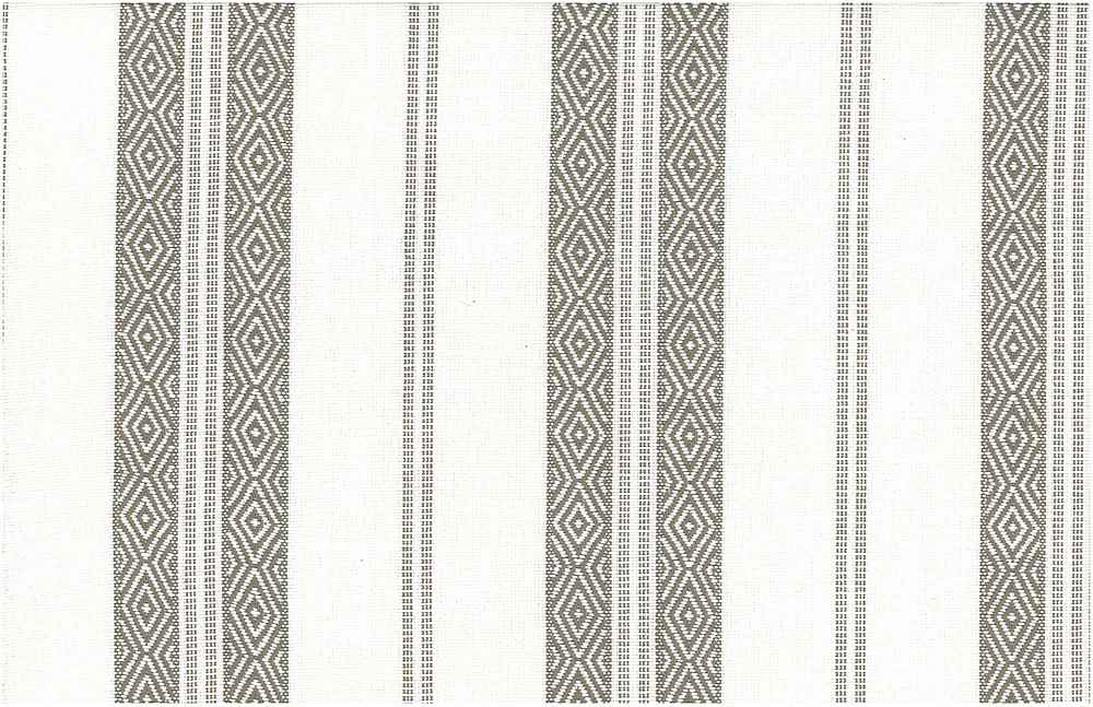<h2>2322/1</h2> / BERBER STRIPE / TAUPE ON WHITE