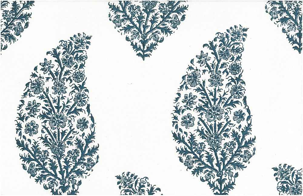 9206/1 / ZAHARA PRINT  / DUTCH BLUE/WHITE