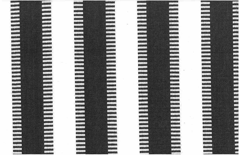 2225/5-LT / NEW LADDER STRIPE-PRESHRUNK / BLACK/WHITE