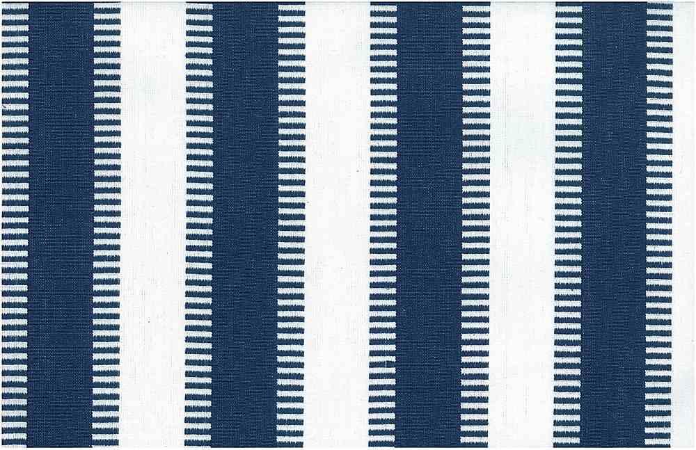 2225/6-LT / NEW LADDER STRIPE-PRESHRUNK / NAVY/WHITE
