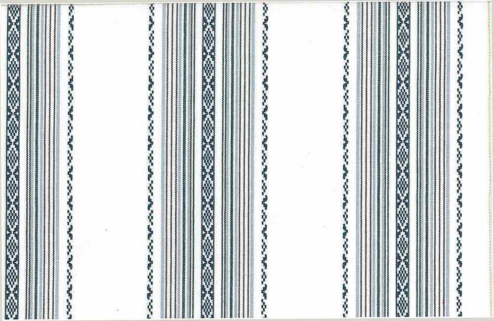 2311/1-PS / IBIZA STRIPE-PRE-SHRUNK / BLUE/WHITE