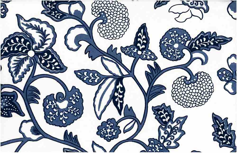 9211/1 / JAKARTA PRINT / DUTCH BLUE/WHITE
