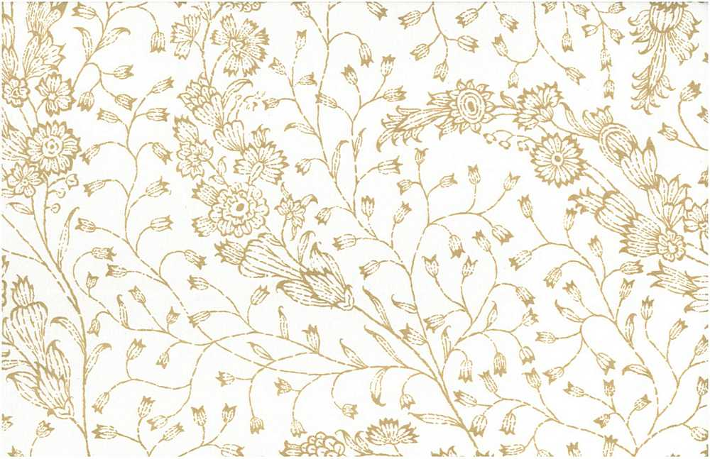 <h2>9214/4</h2> / HONEYSUCKLE PRINT 54/55&quot; / TAN