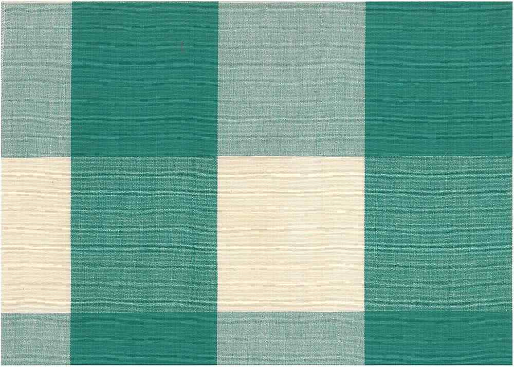 3170/2 / FOUR INCH CHECK / TURQUOISE
