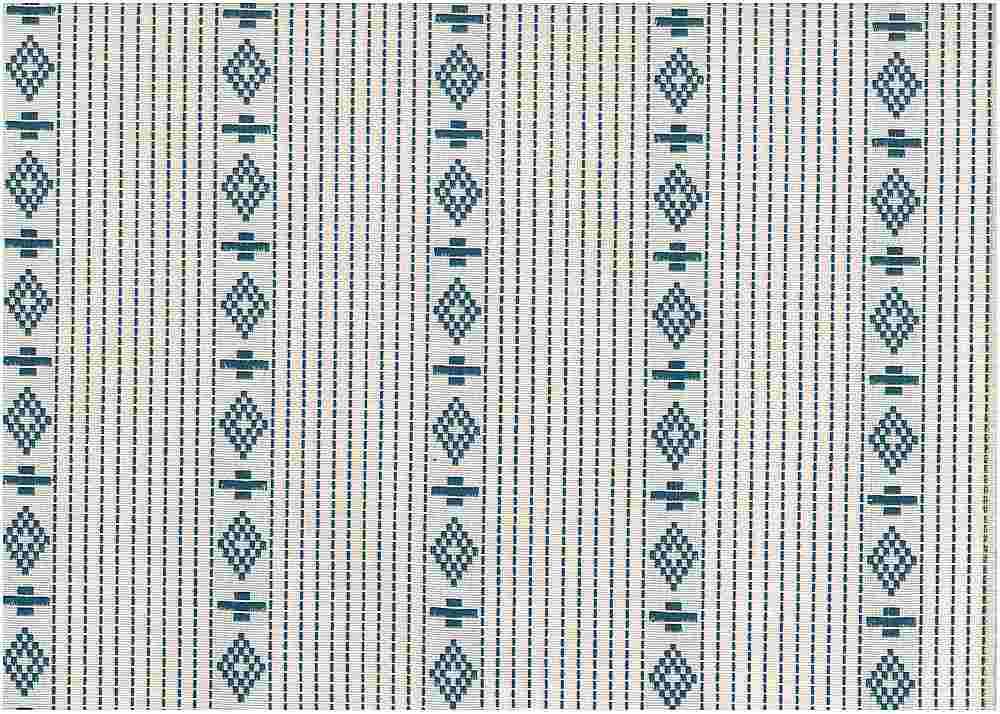 2346/2 / HOPI STRIPE / BLUE ON WHITE