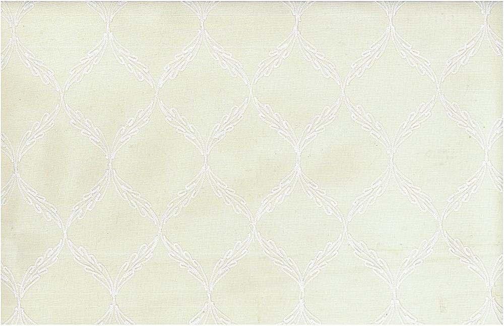 7110/1 / TRELLIS EMBROIDERED / WHITE