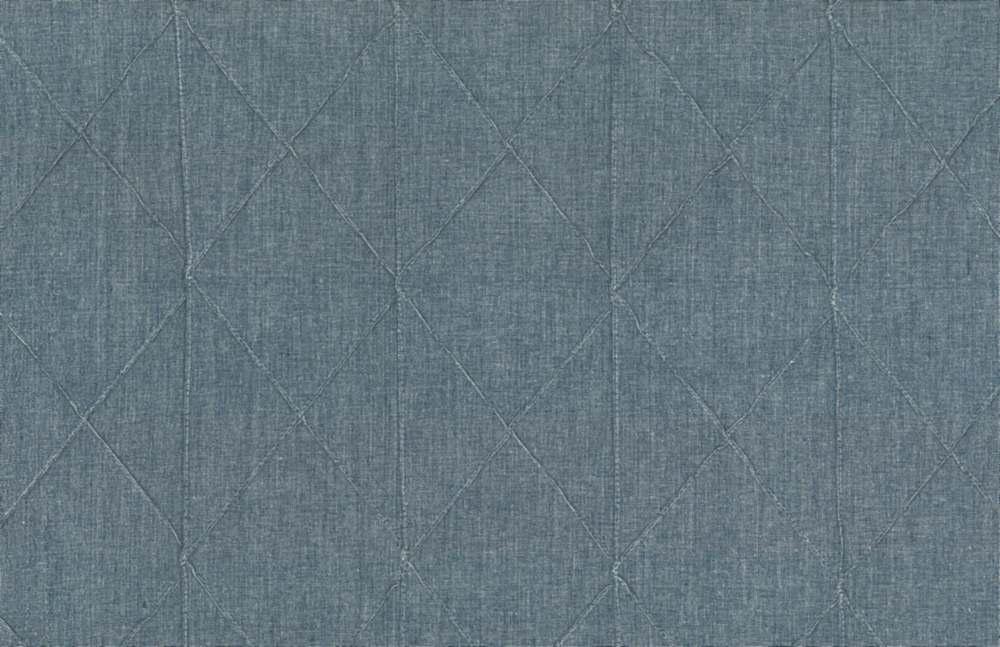 8027/3 / BIG DIAMOND PINTUCK CHAMBRAY / BLUE