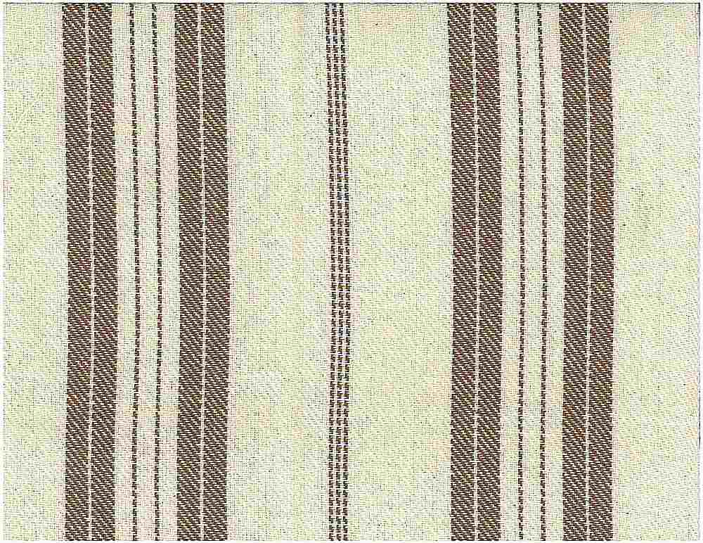 <h2>2069/2</h2> / HEAVY TWILL STRIPE / NAT./CHOCOLATE