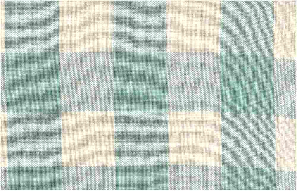 <h2>3171/1</h2> / LINEN LOOK CHECK / BLUE GLASS