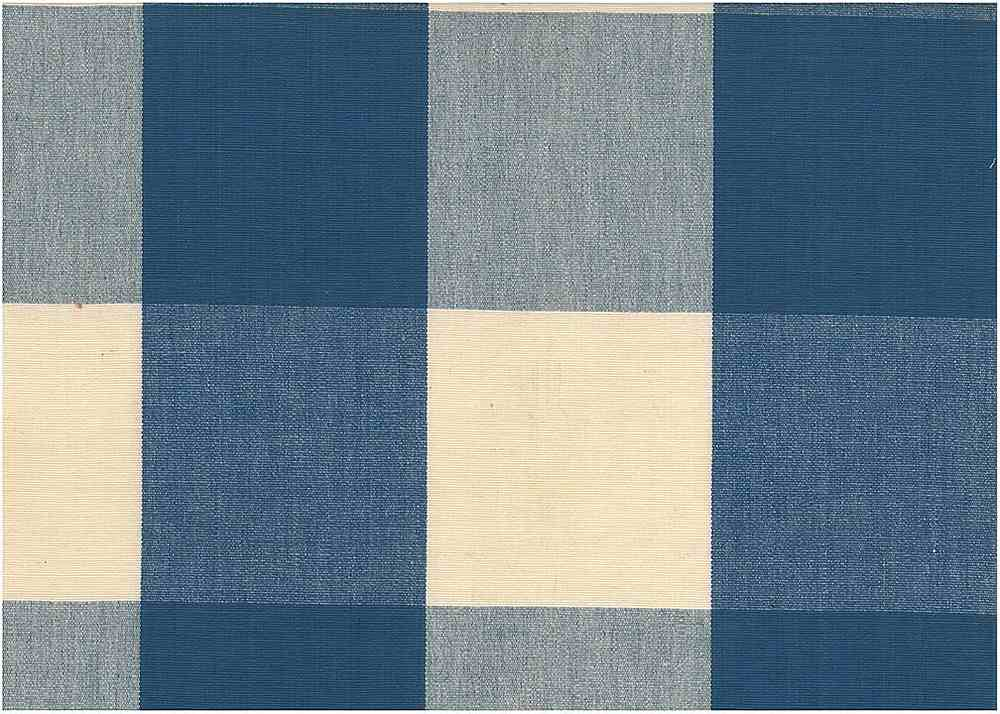 3170/8 / FOUR INCH CHECK / FRENCH BLUE