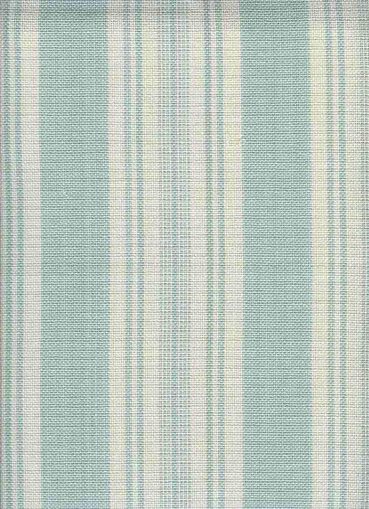 2191/1 / LINEN LOOK TICKING / BLUE GLASS