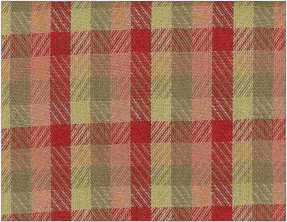1157/1 / RUTHERFORD PLAID / ROSE/SAND