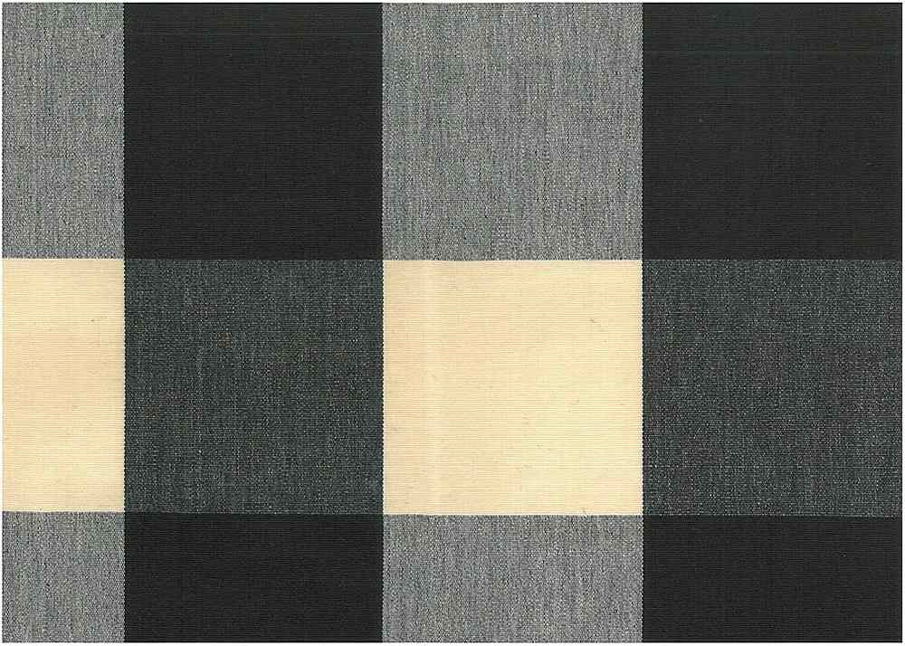 <h2>3163/9</h2> / FOUR INCH CHECK / BLACK/NATURAL