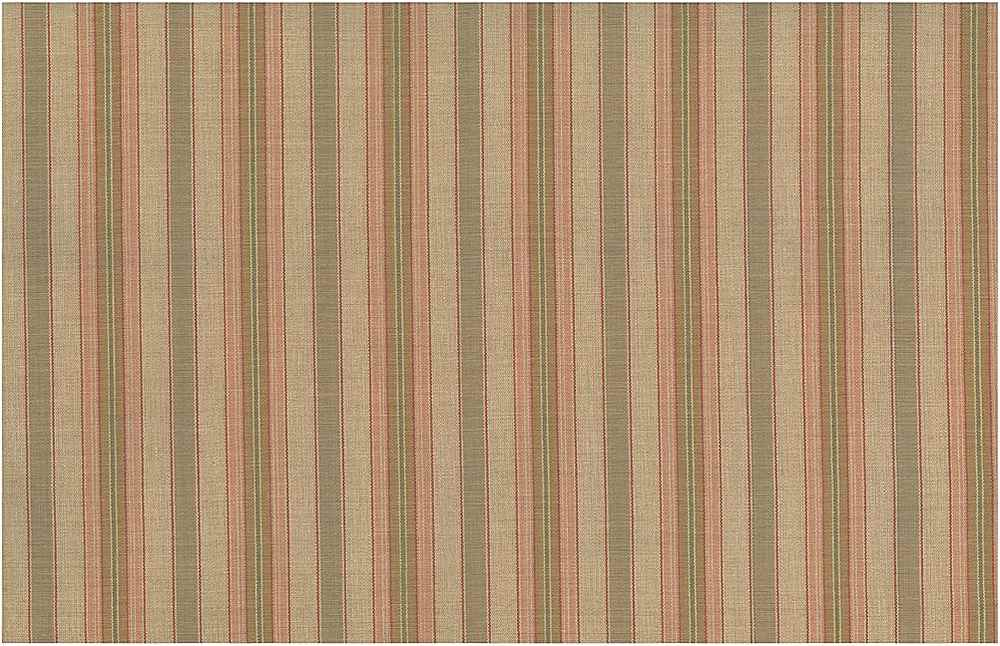 2217/1 / FRENCH COTTAGE STRIPE / TAN/PINK