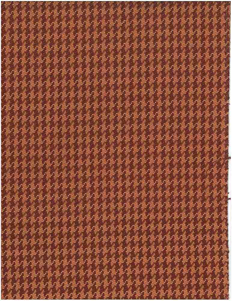 <h2>1163/2</h2> / FINE HOUNDSTOOTH / TOMATO