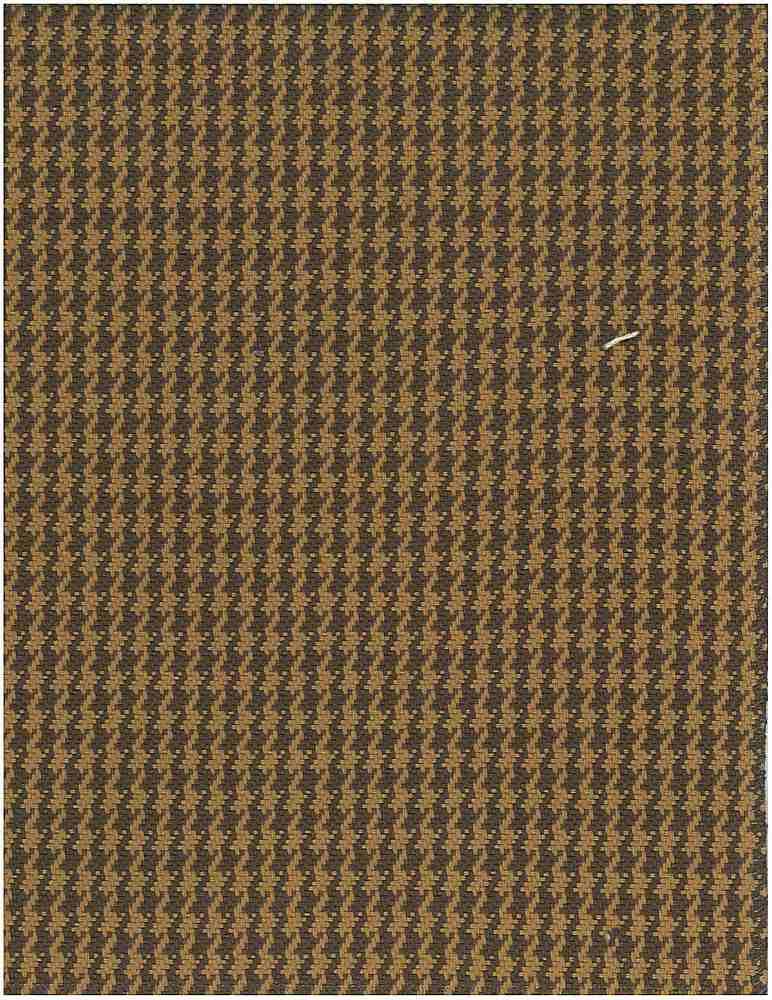 1163/3 / FINE HOUNDSTOOTH / CAMEL