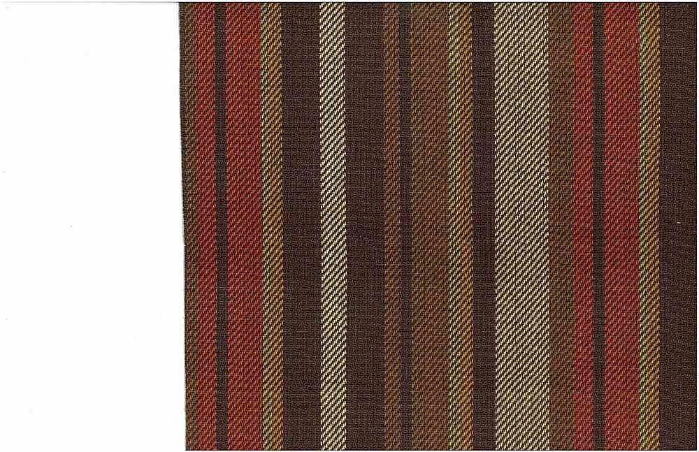 2219/1 / MOUNTAIN RANDOM STRIPE / BROWN/NATURAL