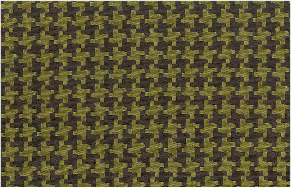<h2>1113/4</h2> / BIG HOUNDSTOOTH / CHOCOLATE/OLIVE