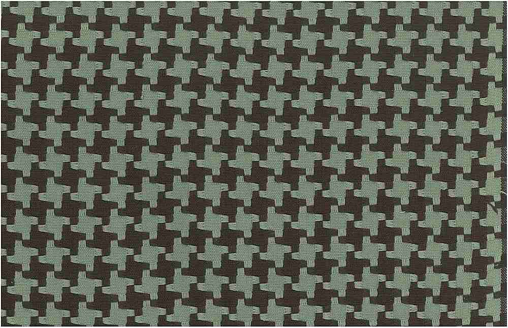 <h2>1113/6</h2> / BIG HOUNDSTOOTH / CHOCOLATE/ROBIN