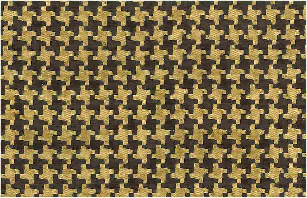 <h2>1113/7</h2> / BIG HOUNDSTOOTH / CHOCOLATE/MAIZE