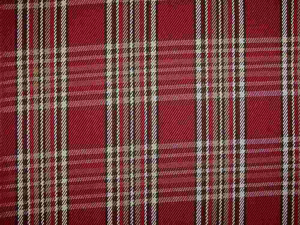 <h2>1125/2</h2> / COTSWALD PLAID / RED