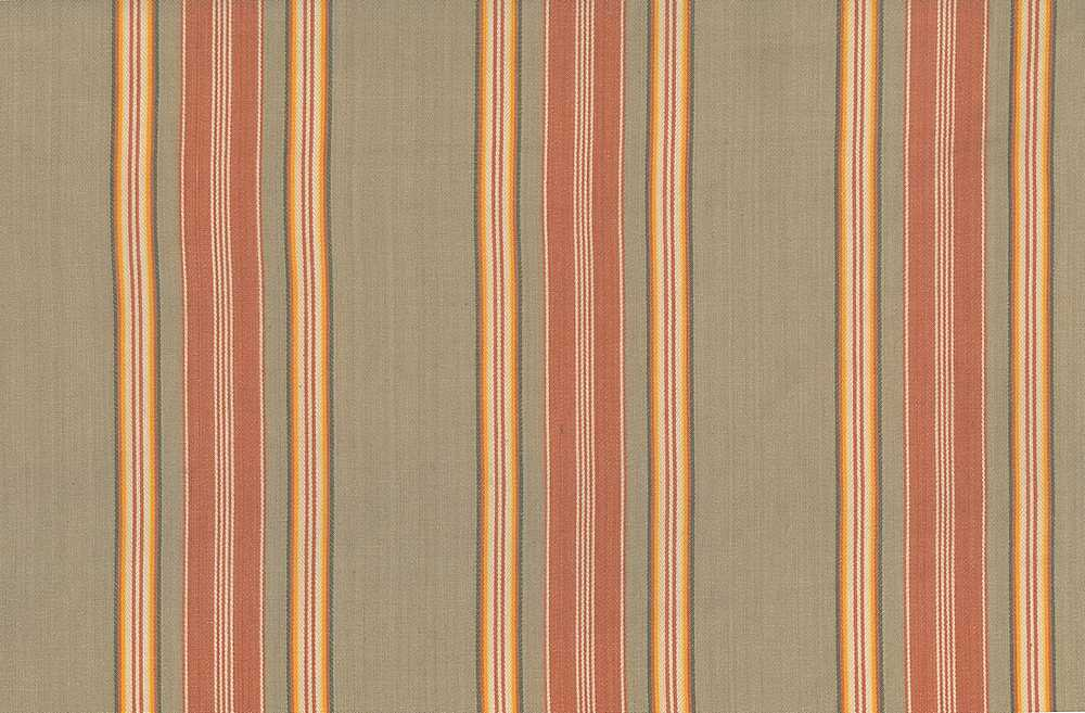 2047/1 / ANTIQUE TICKING / TAN/CORAL