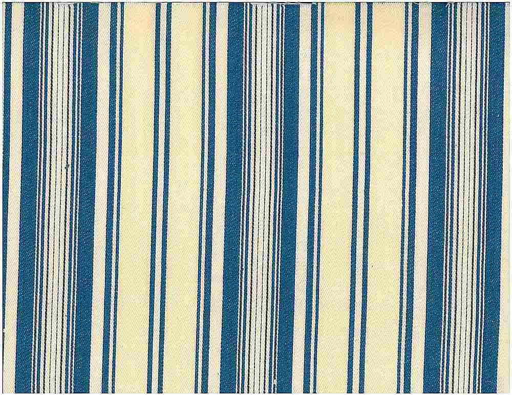 <h2>2049</h2> / TOULOUSE STRIPE / BLUE/CREAM